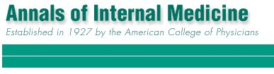 Analls of Internal Medicine