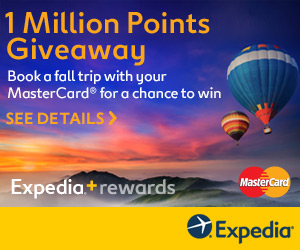 Expedia is giving away A Million Points
