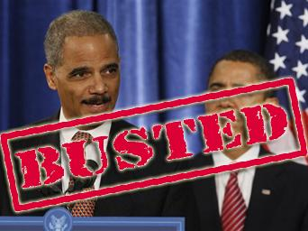 Holder Busted in Coverup