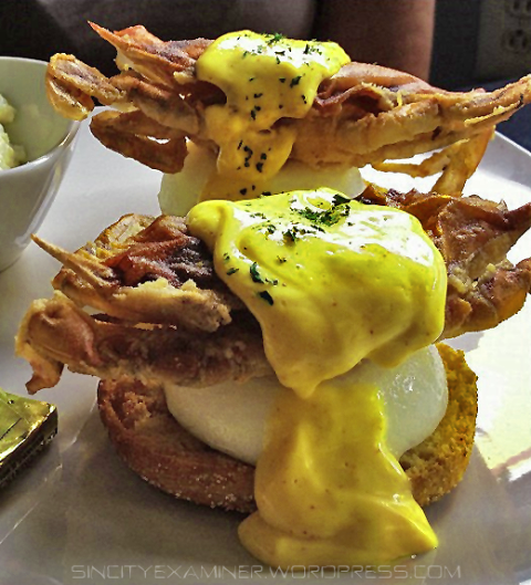 Sin City Examiner's Food Porn - Soft Shell Crab Benedict