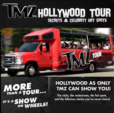 TMZ Hollywood Tour - Half Price