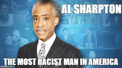 Racist Glory hound, Al Sharpton