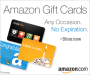 Amazon Gift Cards, the Perfect Gift, Do NotExpire!